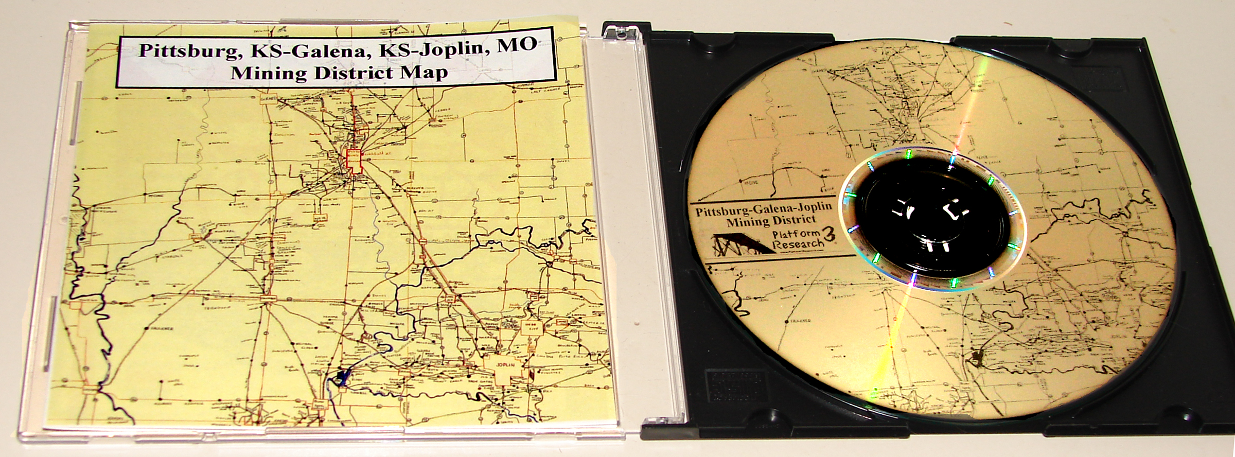 Pittsburg-Galena-Joplin Mining CD